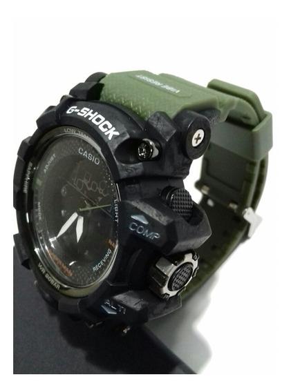 Relógio Sh Lançamento Verde Exército Watch