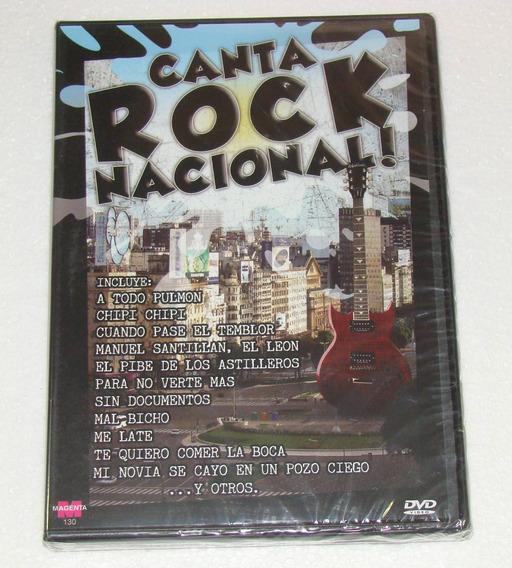 Canta Rock Nacional Flash 5 Tipo Karaoke Dvd Nuevo Kktus