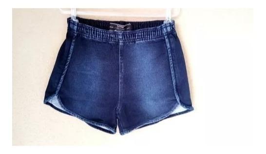 Shortsjeans Feminino Com Elastico Shorts Moletinho Com Lycra
