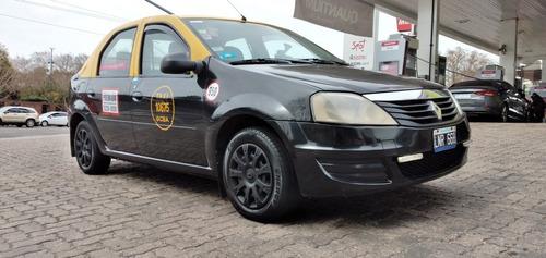 Renault Logan Gnc Nafta 1.6 Negro Taxi Licencia Caba