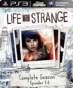 Life Is Strange Psn Ps3 - Completo
