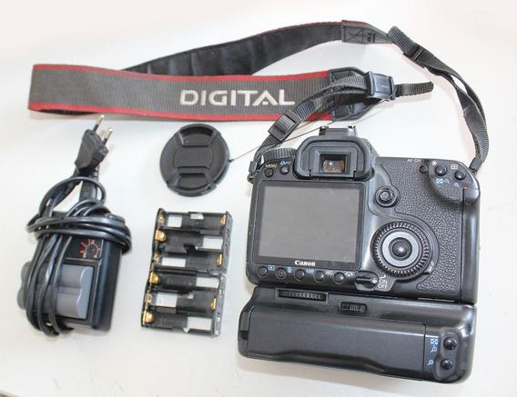 Maquina Canon - Carregador - Grip Bg E2p E Bateria + Adaptad
