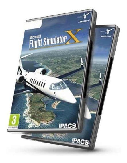 Flight Simulador De Vôo Fsx Completo Português Atualizado