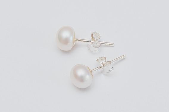 Aros De Perlas Cultivadas