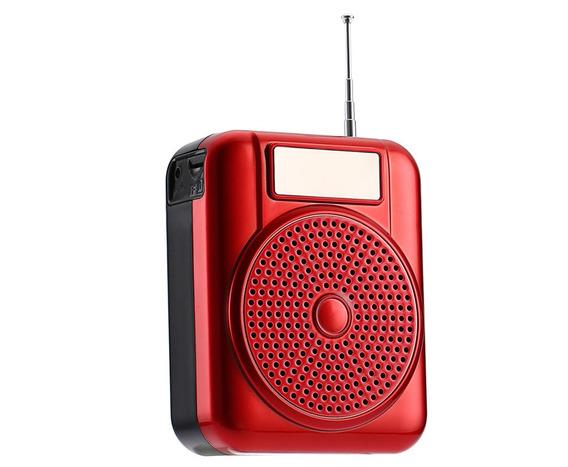 Rádio Receptor Longruner L-68 Fm Music Player Vermelho