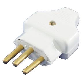 Kit Plug Desmontavel 2p+t 10a 250v - 2 Peças