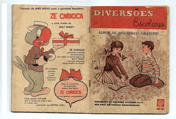 Luc006 Álbum Diversões Escolares- Suplemento Nº 6 - Completo