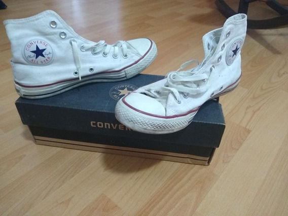 Zapatillas Allá Star Converse Blanca. Talle40 Optical White.
