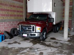 Ford 3/5 Super Duty Con Caja Seca En Excelentes Condiciones