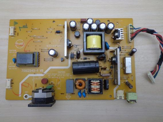Placa Fonte Monitor Hp W17s