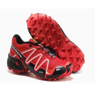 Zapatillas Salomon Speed Cross 3 Rojas Hombre - Deportes y ...