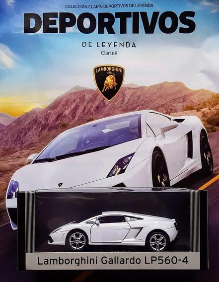 Deportivos De Leyenda Clarin N° 4 Lamborghini Gallardo Lp560