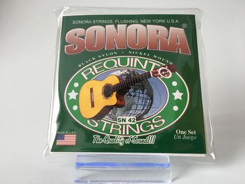Encordado Sonora Sn42 Guitarra-requinto