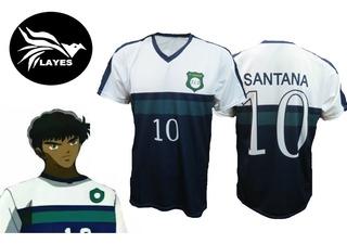 Camiseta Supercampeones Carlos Santana / Tsubasa Japon