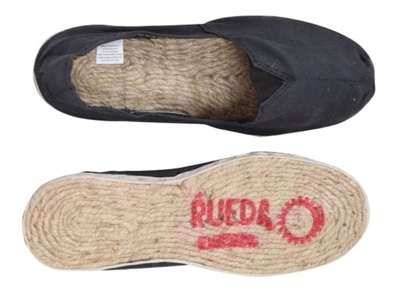 Alpargatas Rueda Originales Suela De Yute Tipo Bigotuda