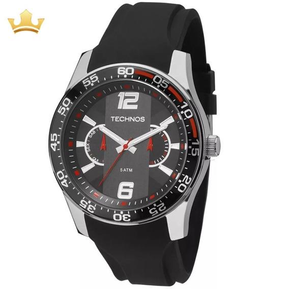 Relógio Technos Masculino 6p25bh/8p C/ Garantia E Nf