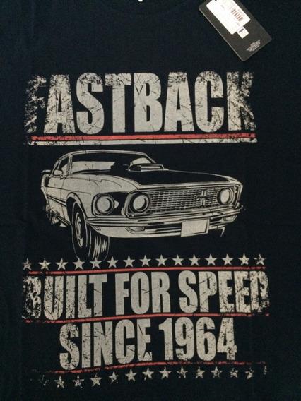 Camiseta Ford Mustang Fastback Original Ford*