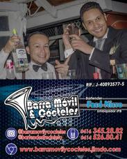 Barra Móvil Y Cócteles - Bartender - Coctel - Barman Flair
