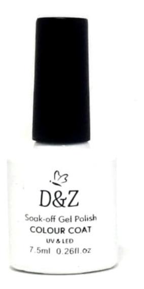 Esmalte Gel D&z Uv Led Branco 7,5 Ml Original