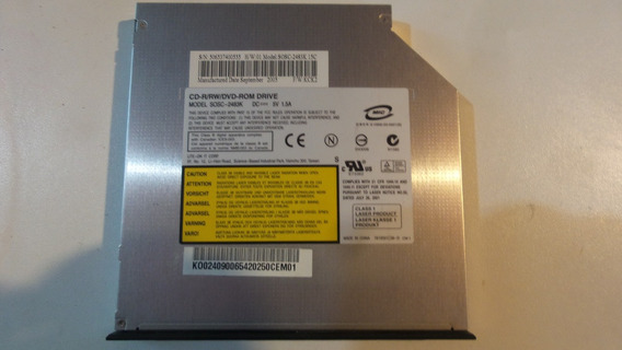 Drive Dvd / Gravador Cd Acer Aspire 3003lci Original