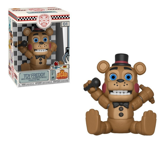 Five Nights At Freddy Boneco Pop Vinil Da Funko Toy Freddy