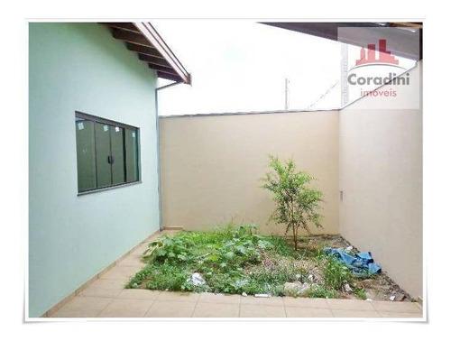 Imagem 1 de 11 de Casa Com 3 Dormitórios À Venda, 108 M² Por R$ 300.000 - Jardim Da Balsa Ii - Americana/sp - Ca0396