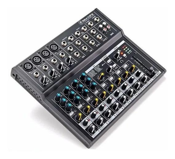 Mesa De Som Mackie Mix12fx 12 Canais Com Efeitos Mix 12