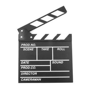 Claqueta Chica Cine Pizarra Director Película, Cámara Acción