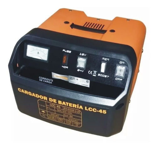 Cargador De Bateria Autos 120-300ah Lusqtoff Llc-45 12v/24v