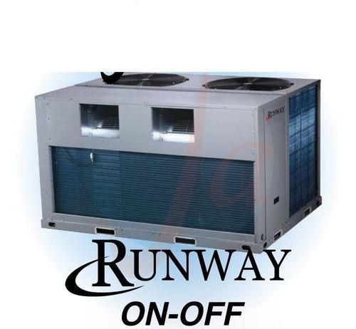 Imagen 1 de 9 de Rooftop Runway De Midea 7.5 Tr -22500 Frig  Frio Calor