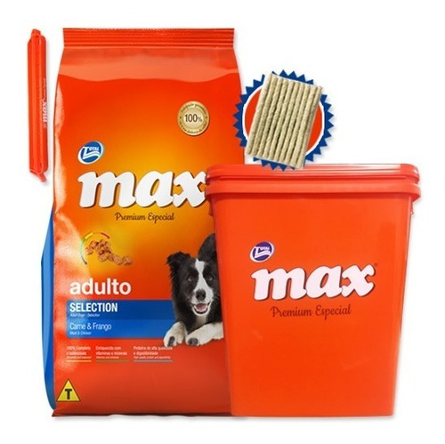 Max Selection Perros Adultos 20k + Regalos Y Envío Gratis*