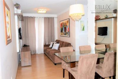 Lindo Apartamento 3 Quartos Giardino. Capão Raso - Curitiba - Pr - Ap0014