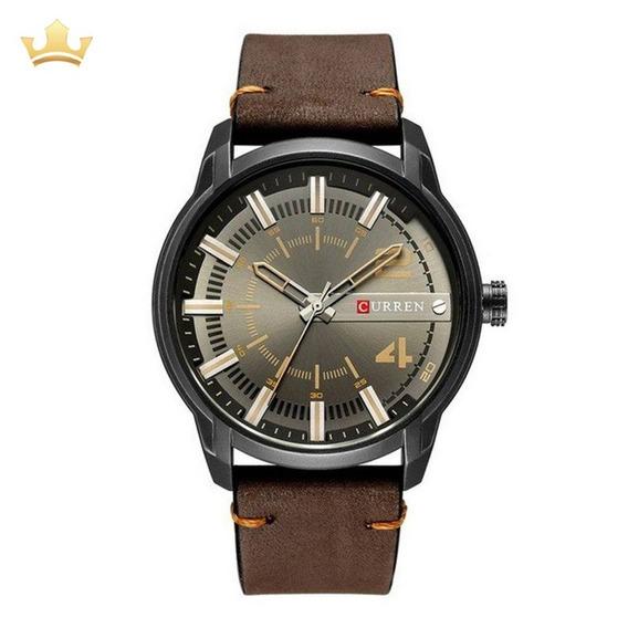 Relógio Masculino Curren Analógico 8306 Com Nf