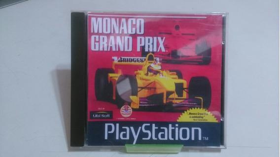 Jogo Ps1 Mônaco Grand Prix ( Patch)