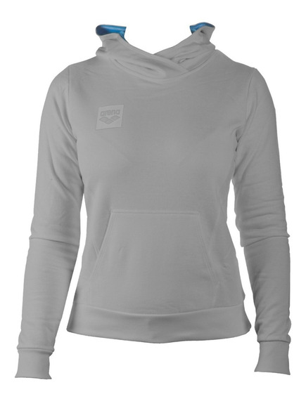 Buzo Deportivo Capucha Mujer Arena Essential Hoodie