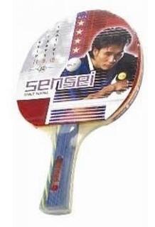 Paleta De Ping Pong Sensei 4* Star Plus Tenis De Mesa