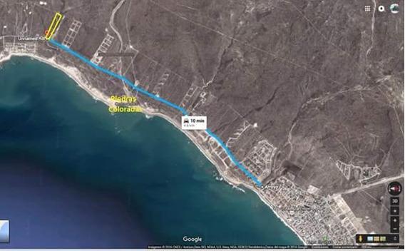 Hermoso Terreno 600mts Frente A Bajada Al Mar En Las Grutas.
