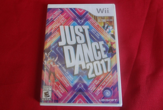 Just Dance 2017 Nintendo Wii Original Novo Lacrado