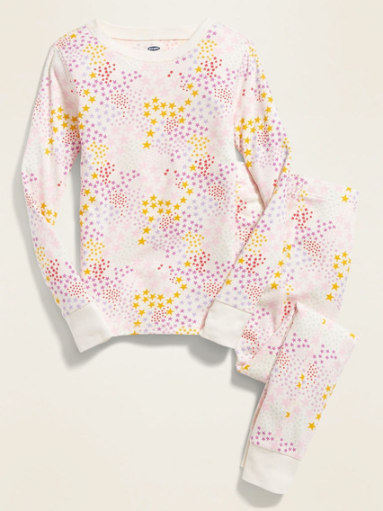 Pijama Niña Conjunto Pantalón Manga Larga Estampado Old Navy