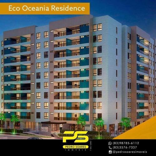 Apartamento À Venda, 98 M² Por R$ 580.000,00 - Jardim Oceania - João Pessoa/pb - Ap4217