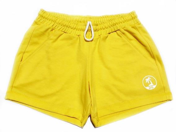 Pack X2 Short Dama 100% Algodon Primavera Verano 2019