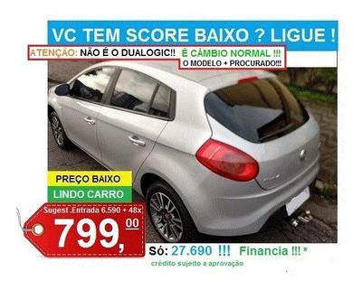 Lindo Fiat Bravo - Financia Score Baixo Alguns Casos -barato