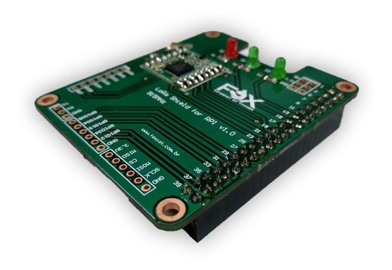 Módulo Shield Lora Para Raspberry Pi 3 + Cabo Antena 3dbi