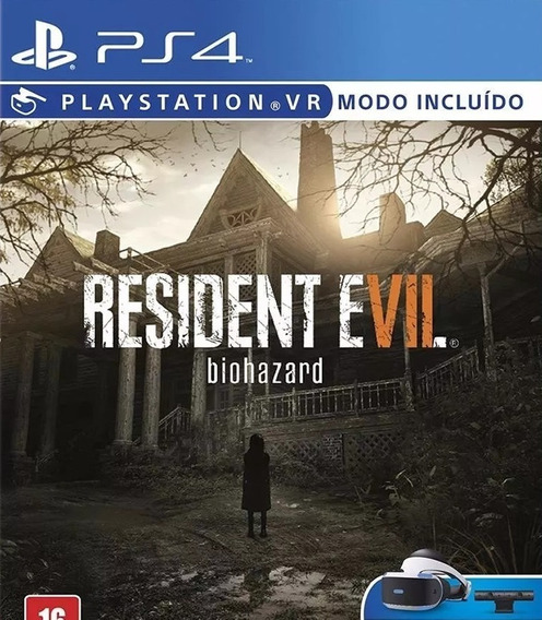 Resident Evil 7 Biohazard Ps4 Legendas Em Portugues