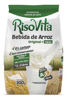 7 Unidades - Leite De Arroz Em Pó Original 300g - Risovita