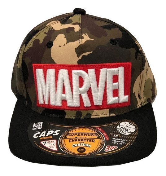 Gorra Cap Original Marvel Super Heroes (0001)
