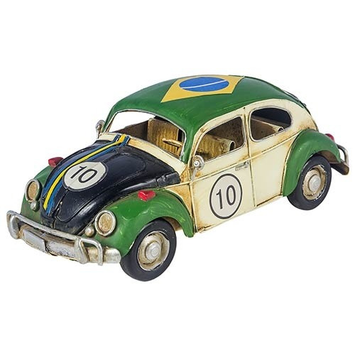 Miniatura Fusca Brasil Cup Vintage Oldway