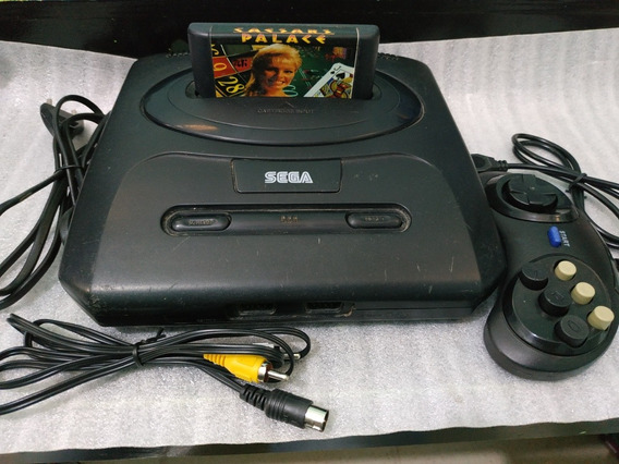 Video Game Mega Drive 3 Completo Com Jogo Genesis
