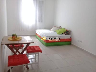 Kitnet Reformada Com 1 Dormitório À Venda, 32 M² Por R$ 130.000 - Cidade Ocian - Praia Grande/sp - Kn0739