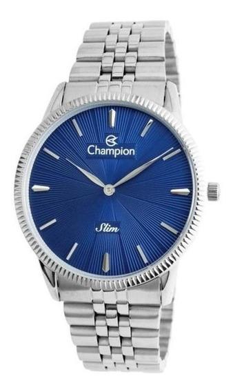 Relógio Masculino Champion Slim Prata Ca21820a